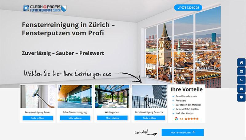 Fensterreinigung in Zürich Fensterputzen vom CleanProfi